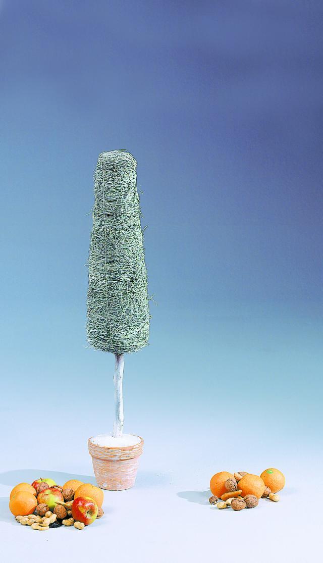 83500246 deko tanne design wei 90cm k nstliche - Led deko tanne ...