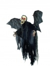 Halloween Figur Bad Ghost Skelett Fledermaus 85cm