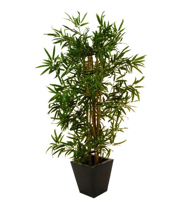 Bambus multistamm 150cm k nstliche pflanzen kunstpalmen - Bambus zimmerpflanze pflege ...